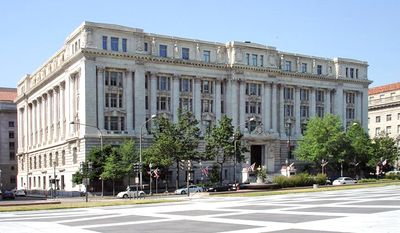 John A. Wilson Building (aka City Hall) in Washington, D.C.
