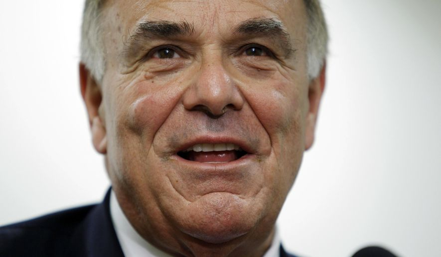 """FILE - In this Jan. 3, 2011 file photo, Pennsylvania Gov. Ed Rendell makes remarks during a news conference in Philadelphia. The former governor said Donald Trump's past comments on women will likely come back to haunt him because Rendell said """"there are probably more ugly women in America than attractive women.""""  The Democrat was offering his thoughts to The Washington Post on the likely Republican nominee's prospects for success in the Philadelphia suburbs when he made the comment.  (AP Photo/Matt Rourke, File)"""