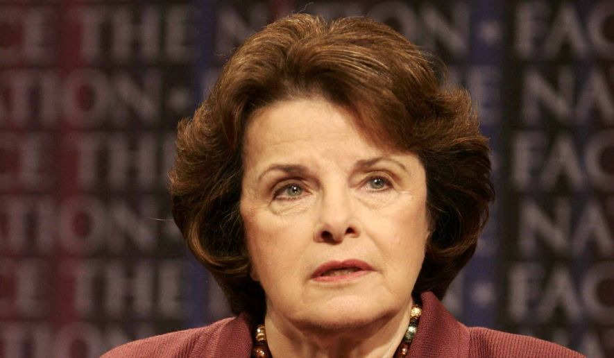 Dianne Feinstein      Associated Press photo