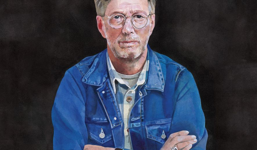 """This CD cover image released by Bushbranch Records/Surfdog Records shows, """"I Still Do,"""" the latest release by Eric Clapton. (Bushbranch Records/Surfdog Records via AP)"""