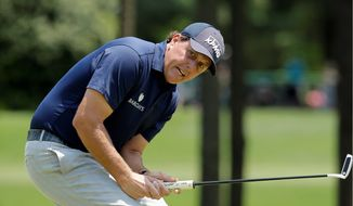 With more than $79.5 million career earnings, Phil Mickelson shouldn't be desperate enough to be involved in insider trading. (associated press)