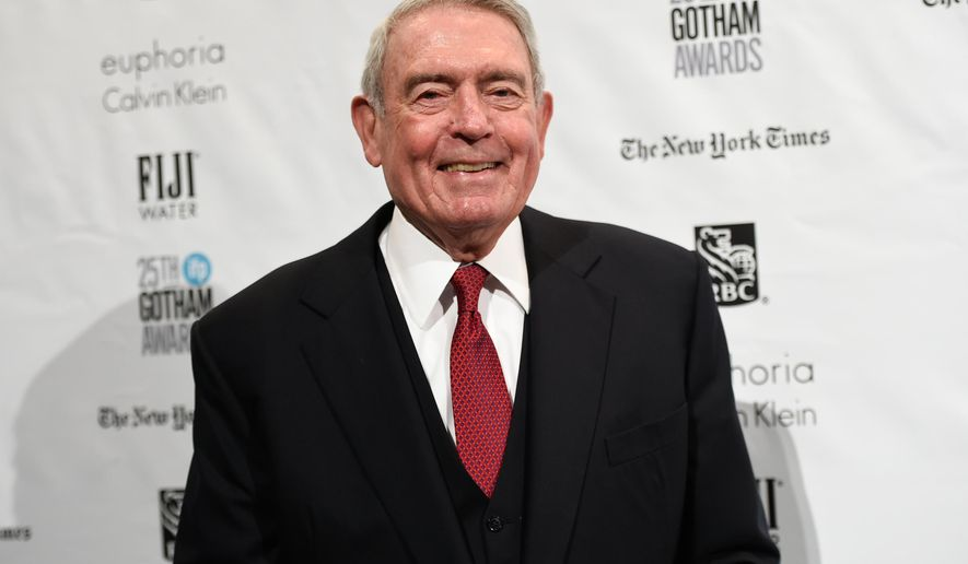 In this Nov. 30, 2015, file photo, Journalist Dan Rather attends The Independent Filmmaker Project's 25th Annual Gotham Independent Film Awards in New York. (Photo by Evan Agostini/Invision/AP, File)