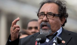 """Facing $72 billion of debt, Puerto Rico is pleading with Congress to step in and restructure its finance. A bipartisan deal is set for a vote in the House, and Rep. Raul V. Grijalva, Arizona Democrat, said it has """"the best opportunity to pass."""" (Associated Press)"""