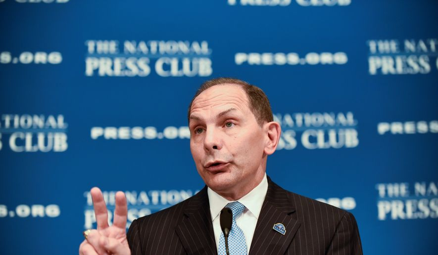 Veterans Affairs Secretary Robert McDonald is facing calls for his resignation amid persistent agency failings and his own highly publicized gaffes. (Associated Press)