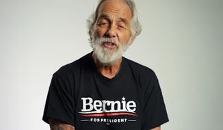 Tommy Chong said he was insulted after the campaign for Democratic presidential candidate Bernie Sanders disinvited him to speak just hours before a rally Sunday in East Los Angeles. (YouTube/@HeyTommyChong)