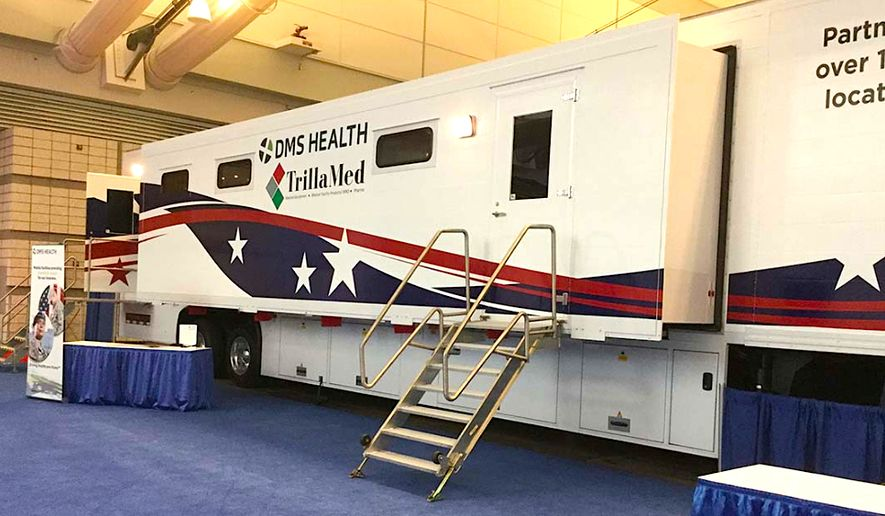 A state-of-the-art mobile medical clinic will join the Rolling Thunder cause to draw attention to the medical care and health challenges of military veterans in rural or remote communities - particularly female vets. (DMS Health Technology)