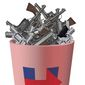Illustration on Hillary's likely Second Amendment policy by Alexander Hunter/The Washington Times