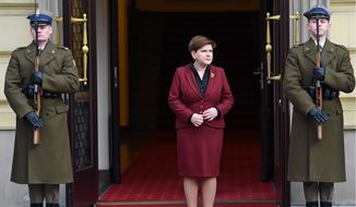 Critics, including top officials with the European Union, say the government of Prime Minister Beata Szydlo, in its haste to impose its conservative agenda, has run roughshod over democratic norms since taking power last fall, even trying to subvert the country's highest constitutional court. (Associated Press)