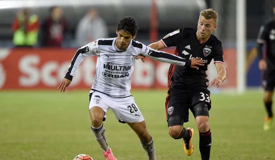 Despite limited play, rookie Julian Buescher (33) provides a valuable option for a D.C. United attack hampered by injuries. (Associated Press)