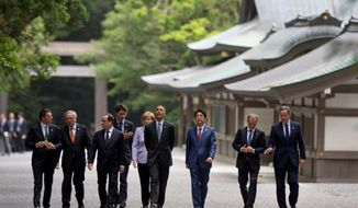 "Meeting with some of America's most important allies in Japan, President Obama said world leaders are ""rattled"" by presumptive GOP presidential nominee Donald Trump's ""ignorance of world affairs."" Mr. Obama hasn't specified which foreign leaders are nervous about the possibility of Mr. Trump becoming president, but it could include any of the leaders in attendance at the G-7 summit. (Associated Press)"