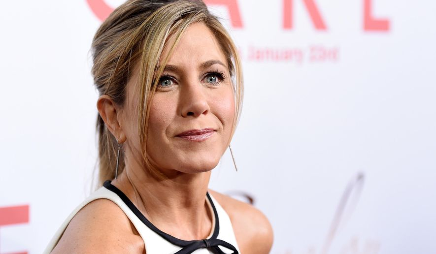 "FILE - In this  Jan. 14, 2015, file photo, Jennifer Aniston, a cast member in ""Cake,"" poses at the premiere of the film at Arclight Cinemas in Los Angeles. Aniston announced the death of her mother, Nancy Dow, in a statement to People magazine on May 25, 2016. (Photo by Chris Pizzello/Invision/AP, File )"