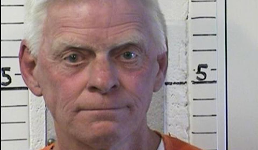 """This April 30, 2014 photo provided by the California Department of Corrections and Rehabilitation shows inmate Gregory Miley. Officials say Miley, 54, an accomplice of serial """"Freeway Killer"""" William Bonin, who terrorized Southern California 36 years ago, has been killed in prison. A spokesman said Thursday, May 26, 2016, that Miley was attacked by another inmate at Mule Creek State Prison in Ione, Calif., Monday, May 23, and died at an outside hospital Wednesday, May 25. (California Department of Corrections and Rehabilitation via AP)"""