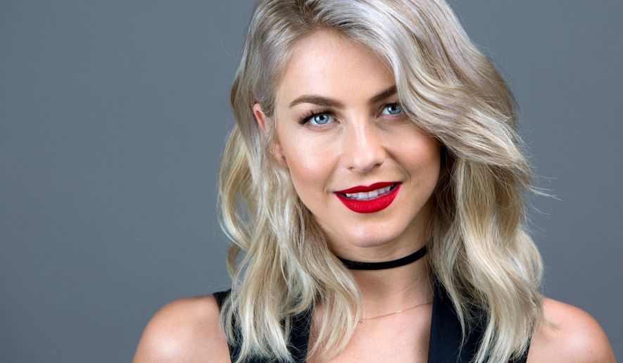 In this April 8, 2016 photo, Julianne Hough poses for a portrait in New York. Aside from acting and dancing, Hough has her own lifestyle blog, and she is a brand ambassador for FitBit, the popular fitness tracker. (Photo by Amy Sussman/Invision/AP)