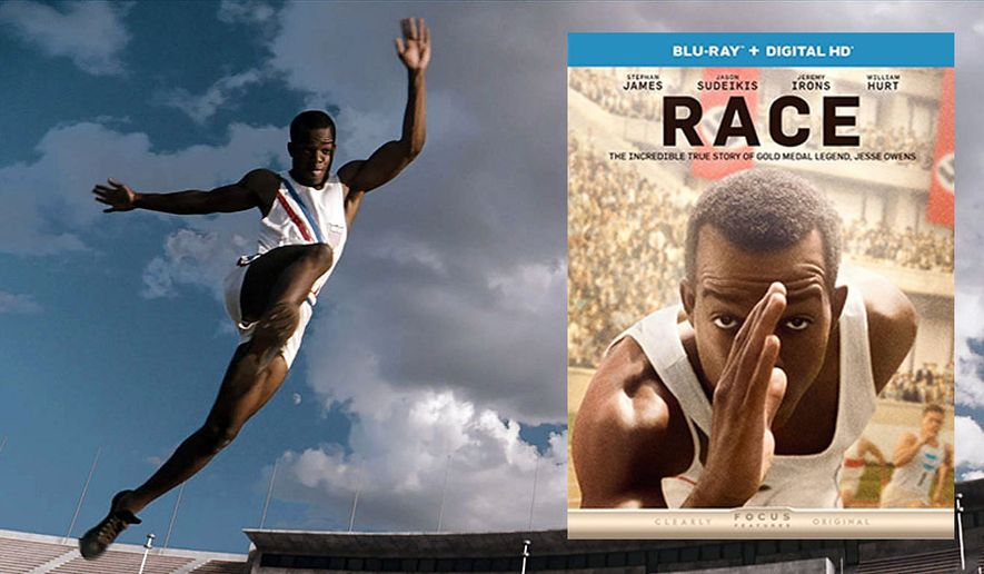 "Stephan James stars as Jessie Owens in ""Race,"" available soon on Blu-ray from Universal Studios Home Entertainment."