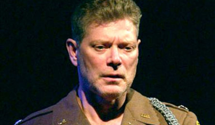 """Stephen Lang's one-man show """"Beyond Glory"""" has been turned into a film.  (Stripes.com)"""