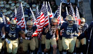 Navy football games and other events at the Navy-Marine Corps Memorial Stadium are reminders of the price paid for freedom. (Associated Press)