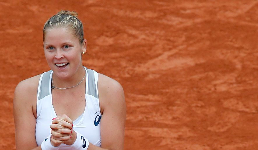Shelby Rogers was the last player admitted to the French Open field at the time of the rankings cutoff last month and has now reached the quarterfinals. (Associated Press)