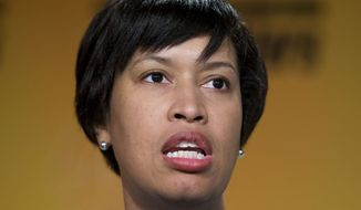D.C. Mayor Muriel Bowser said the process for statehood is moving quickly because a constitution must be ready if Democrats win the White House or gain control of Congress in November. (Associated Press/File)