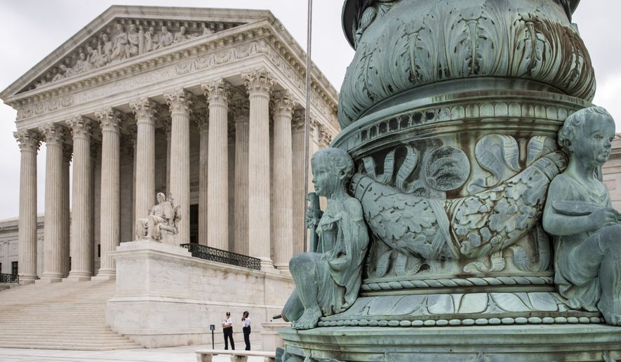 The Supreme Court in Washington is seen Tuesday, May 31, 2016 (AP Photo/J. Scott Applewhite)