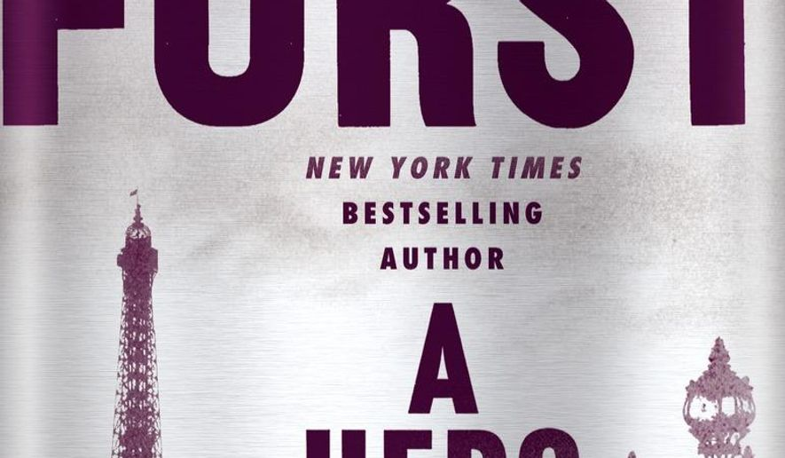"""This book cover image released by Random House shows, """"A Hero Of France,"""" by Alan Furst. (Random House via AP)"""