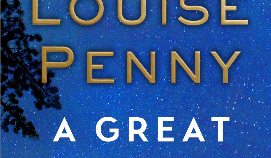 "This book cover image released by Minotaur shows, ""A Great Reckoning,"" a novel by Louise Penny, in bookstores on Aug. 30. (Minotaur via AP)"