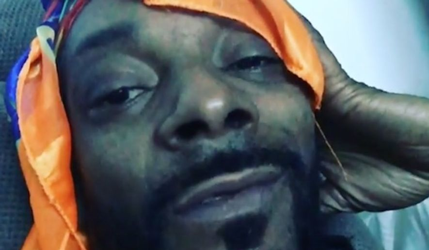 "Rapper Snoop Dogg called for a boycott of the History Channel's ""Roots"" remake in an expletive-filled rant on social media. (Instagram/@snoopdogg)"