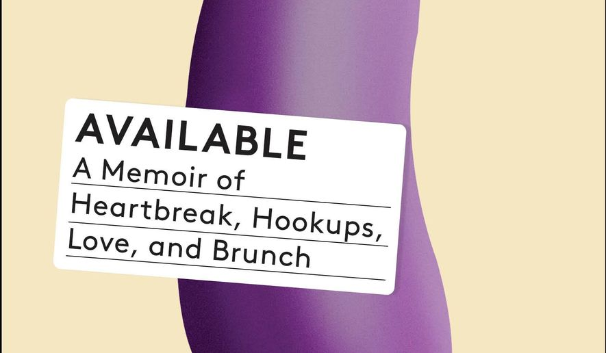 "This book cover image released by Scribner shows, ""Available: A Memoir of Heartbreak, Hookups, Love and Brunch,"" by Matteson Perry. (Scribner via AP)"