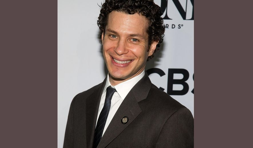 "FILE - In this May 4, 2016 file photo, Thomas Kail attends the 2016 Tony Awards ""Meet the Nominees"" press junket in New York. Kail is nominated for a Tony Award for his work directing the musical, ""Hamilton."" The awards will be held on Sunday, June 11. (Photo by Charles Sykes/Invision/AP, File)"