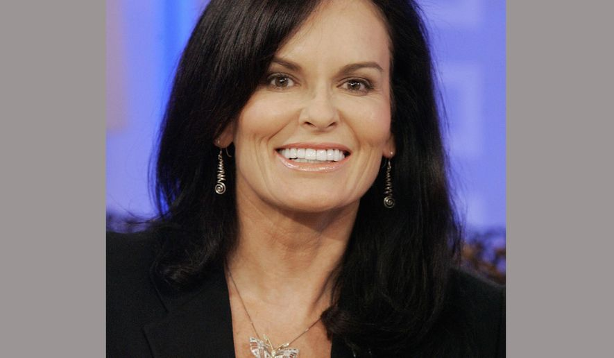 "FILE - In this Aug. 15, 2007 file photo, Denise Brown, sister of Nicole Brown Simpson, appears during a segment of the NBC ""Today"" television program in New York. NBC News' production company says it has signed Brown to develop a true crime series for television. (AP Photo/Richard Drew, File)"