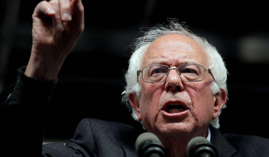 Sen. Bernie Sanders of Vermont. (Associated Press) ** FILE **