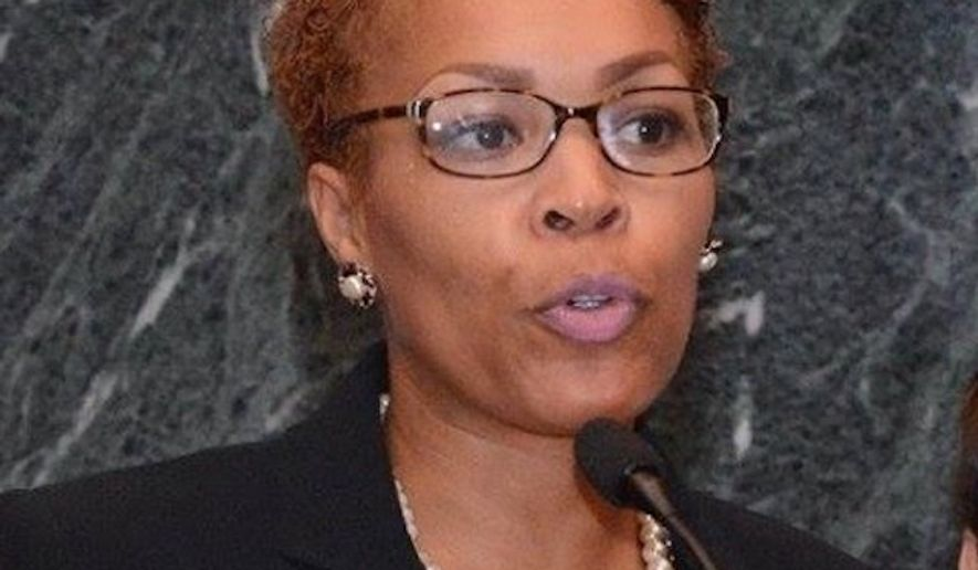 Maya Dillard Smith, head of Georgia's ACLU chapter, has resigned over President Obama's directive for schools to let transgender students use the bathroom of their choice, after she said her daughters were frightened by running into three transgender individuals in the women's bathroom. (Facebook/@Maya Dillard Smith)