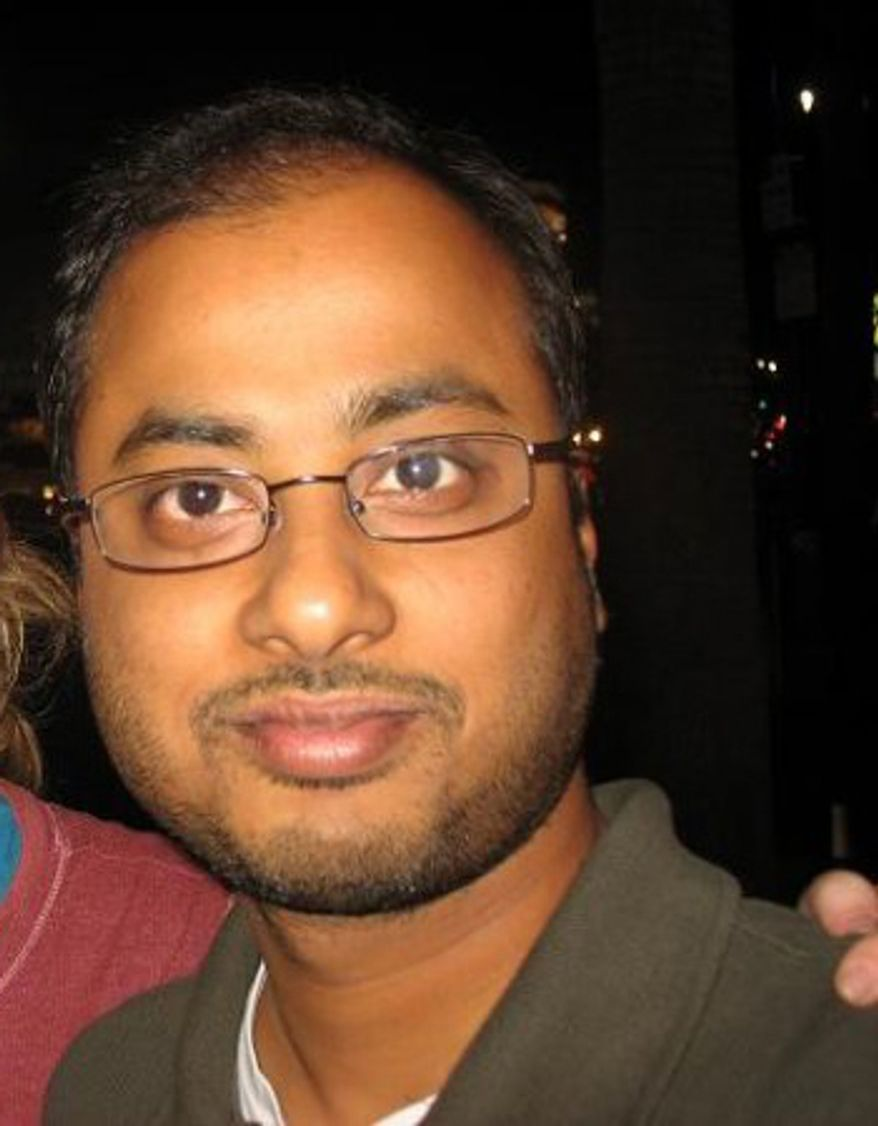 """This undated photo shows Mainak Sarkar, who police say carried out a murder-suicide at the University of California, Los Angeles on Wednesday, June 1, 2016. Sarkar had a """"kill list"""" with multiple names that included professor Bill Klug, a woman found dead in a Minneapolis suburb and another UCLA professor who was not harmed, Los Angeles Police Chief Charlie Beck said. (Facebook via AP)"""