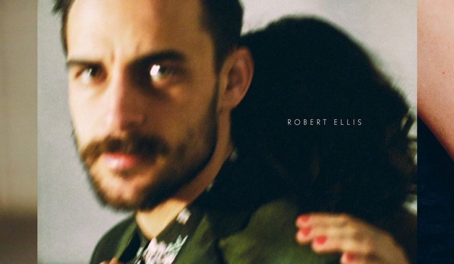 This CD cover image released by New West shows the self-titled album by Robert Ellis. (New West via AP)