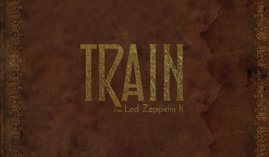 """This CD cover image released by Crush Music/Atlantic shows """"Does Led Zeppelin II,"""" a new release by Train. (Crush Music/Atlantic via AP)"""