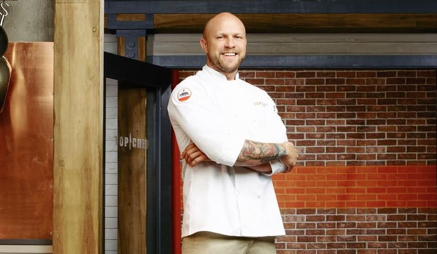 "'Top Chef' Season 13 winner Jeremy Ford will be at ""Toasted Tour"" Saturday."