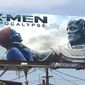 """Jennifer Lawrence stars as Mystique in the new movie """"X-Men: Apocalypse."""" A billboard featuring her character in the clutches of the villain has enraged actress Rose McGowan. (Facebook News)"""