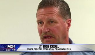 Lt. Bob Kroll, president of the Minneapolis police union, had some harsh words for the Black Lives Matter movement after the officers involved in the fatal shooting of Jamar Clark were cleared Wednesday of any wrongdoing. (FOX 9)