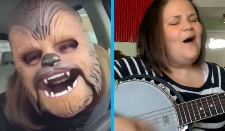 "Candace Payne, aka Internet sensation ""Chewbacca Mom."" (Photo: ChurchPOP.com)"