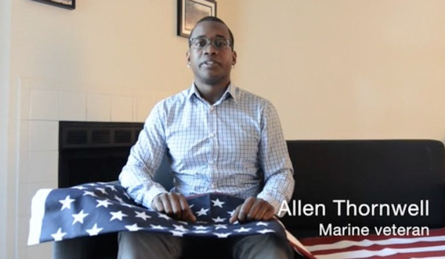 Allen Thornwell, a North Carolina veteran, is demanding an apology from Time Warner Cable after he said he was fired last week for lowering the company's American flag to half-staff on Memorial Day. (Charlotte Observer/John D. Simmons)