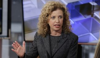 Rep. Debbie Wasserman Schultz, Florida Democrat. (Associated Press) ** FILE **