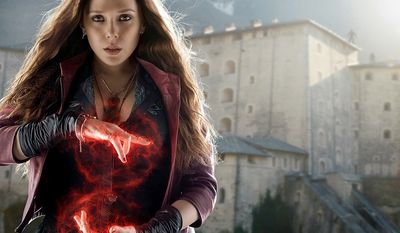 Elizabeth Olsen as Scarlet Witch, as a mutant, born with the ability to alter reality in unspecific ways in Captain America: The Winter Soldier and playing a central role in Avengers: Age of Ultron and in Captain America: Civil War.