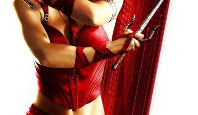 Jennifer Garner as Elektra in the 2003 film Daredevil and its 2005 spin-off, Elektra