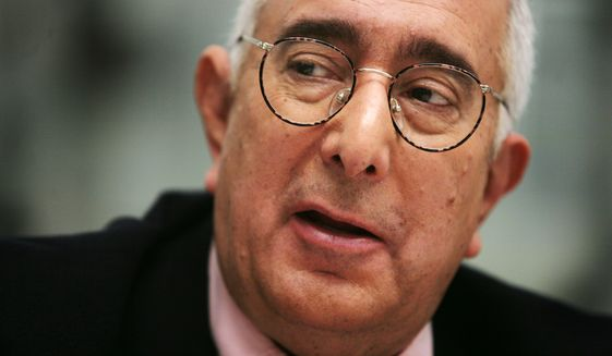 In this Nov. 12, 2007, file photo, Ben Stein is interviewed in New York. The actor, economist and former Republican presidential speechwriter has slammed presumptive Republican presidential nominee Donald Trump's economic knowledge. (AP Photo/Bebeto Matthews, File)