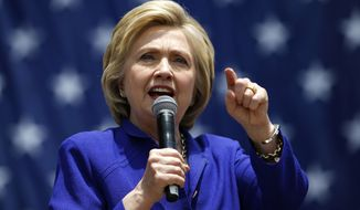 The result in the Garden State will have little bearing on the race, as Hillary Clinton earlier this week secured the number of delegates needed to claim the nomination, according to an Associated Press count. (Associated Press)
