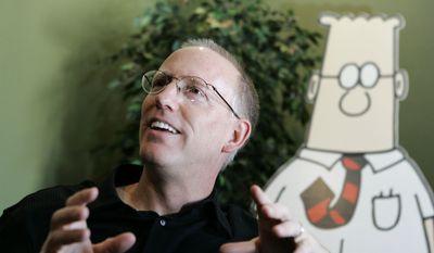 """""""Dilbert"""" creator Scott Adams (Associated Press) ** FILE **"""