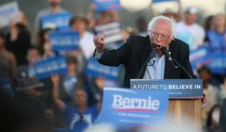 Sen. Bernard Sanders will meet with President Obama on Thursday at the White House. (Associated Press)