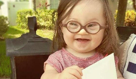 Courtney Baker, a new mother of an infant with Down syndrome, says her daughter, Emersyn Faith, is living proof that children with special needs deserve life, penning an open letter to the doctor who suggested she have an abortion. (parkermyles.com)