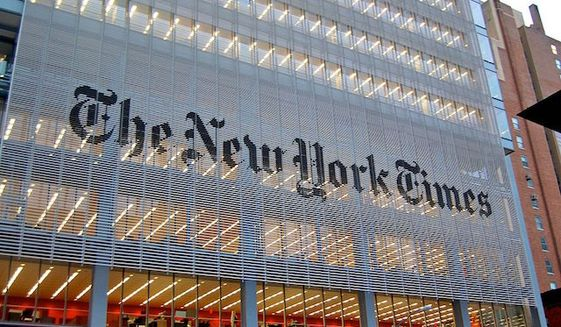 The New York Times headquarters 620 Eighth Avenue, New York. (Wikipedia)