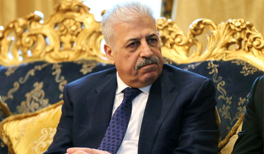 New plan: Atheel al-Nujaifi, a controversial former governor, claims his approach to dealing with the Islamic State is the most viable. (Associated Press)