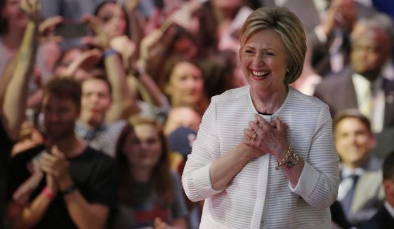 A video posted by SourceFed, a news and pop-culture website, accused Google of attempting to boost secretly Hillary Clinton's candidacy. (Associated Press)
